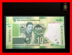 SOUTH AFRICA  10 Rand  2018  P. 143  *commemorative N. Mandela*   UNC - Suráfrica