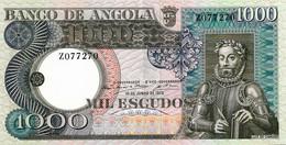ANGOLA 1973  1000 Escudo - P.108a  Neuf UNC - Angola