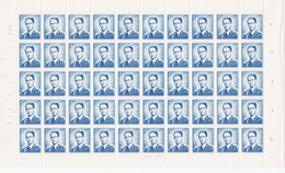 926PH - XX - BAUDOUIN 4F - PL 3 - + 6 Variétés 11-25-53-7-77-78 (voir Varibel)  Dd 3 VIII 71 - Ganze Bögen