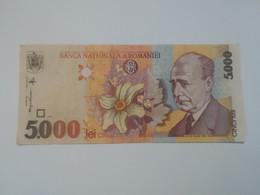 ROMANIA 5000 LEI 1998 - Roemenië