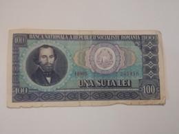 ROMANIA 100 LEI 1966 - Roemenië