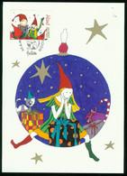 Mk Aland Islands Maximum Card 2009 MiNr 319 Post Paid   Christmas. (Wichtel, Santa's Helpers) - Aland