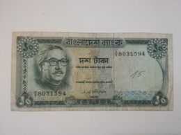 BANGLADESH 10 TAKA 1972 - Bangladesh