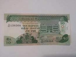 MAURITIUS 10 RUPEES - Mauritius