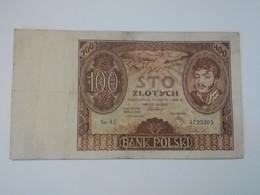 POLONIA 100 ZLOTYCH 1932 - Polen