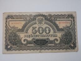 POLONIA 500 ZLOTYCH 1944 - Polen