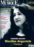 Le Monde De La Musique N°271 : Martha Argerich De Collectif (2002) - Zonder Classificatie