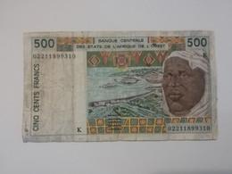 SENEGAL 500 FRANCS - Senegal