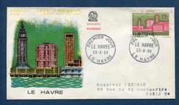 ⭐ France - Premier Jour - FDC - Le Havre - 1958 ⭐ - 1950-1959