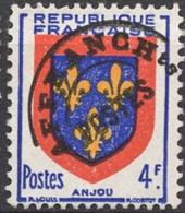 FRANCE -  Armoiries Anjou - 1893-1947