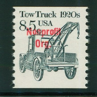 USA Scott # 2129a 1987  American Transportation Coil - 8.5¢Tow Truck (Precancelled) Mint Never Hinged  (MNH) - Nuevos