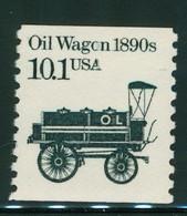 USA Scott # 2130 1985  American Transportation Coil - 10.1¢Oil Wagon Mint Never Hinged  (MNH) - Nuevos
