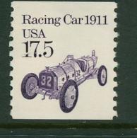 USA Scott # 2262 1987  American Transportation Coil -17.5¢Racing Car   Mint Never Hinged  (MNH) - Nuevos