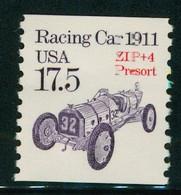 USA Scott # 2262a 1987  American Transportation Coil -17.5¢Racing Car Precancelled  Mint Never Hinged  (MNH) - Nuevos