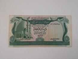 LIBIA 1 DINAR 1981 - Libië