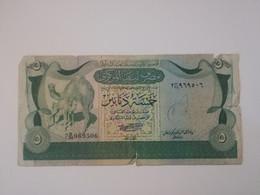 LIBIA 5 DINARS 1981 - Libië