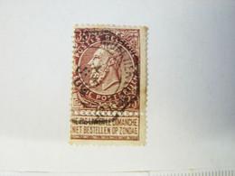 RDB. Ti. 10. 22. Fine Barbe 35 C Brun Oblitération Octogonale à Déterminer - 1893-1900 Thin Beard