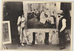Carte Postale FRANCE  TOULOUSE-LAUTREC Dans Son Atelier En 1894 (carte Neuve) - Foto's