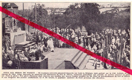 Orig. Knipsel Coupure Tijdschrift Magazine - Liège - Monument Pour Les Héros De Fléron - 1935 - Sin Clasificación
