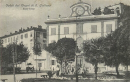 SALUTI DAI BAGNI DI S. GIULIANO - Regie Terme (carte Vendue En L'état). - Pisa