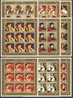 ZZ076 2001 MOZAMBIQUE MOCAMBIQUE ART PAINTINGS AUGUSTE RENOIR 9SET MNH - Other