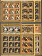 ZZ080 2001 MOZAMBIQUE ART PAINTINGS TOULOUSE LAUTREC 9SET MNH - Other