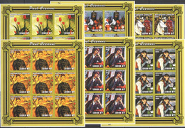 ZZ175 IMPERFORATE 2001 MOZAMBIQUE ART PAINTINGS PAUL CEZANNE !!! 9SET MNH - Other