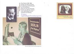 1987 DEUTSCHLAND PAUL NIPKOW BERLIN  FDC  STATIONERY COVER FANTASTIC     (GEN210184) - FDC: Enveloppes