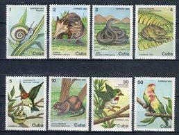 Cuba 1984. Yvert 2575-82 ** MNH. - Neufs