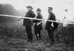 1903 - 1930 / PHOTO / PRESIDENT ARMAND FALLIERES / CHASSE / CHASSEUR FORESTIER / BRANGER / CHASSEURS FORESTIERS - Krieg, Militär
