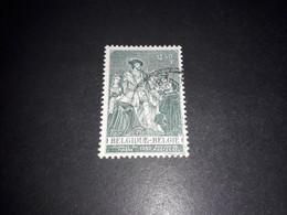"""A8MIX11 BELGIO 1959 GIORNATA DEL FRANCOBOLLO VAN DEN BUSSCHE """"O"""" - Used Stamps"""
