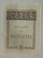JC , Programme , Spectacle ,THEATRE DES NOUVEAUTES ,EUSEBE , Comédie En 6 Tableaux , 1928, Frais Fr 3.30 € - Programma's