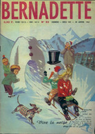 Bernadette (nouvelle Série) N°93 De Collectif (1963) - Ohne Zuordnung