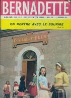 Bernadette (nouvelle Série) N°74 De Collectif (1962) - 12-18 Jahre