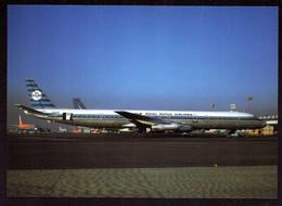 AK 000387 PLANE / AIRPLANE - KLM - DC-8-63 - 1946-....: Era Moderna