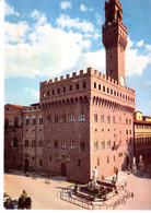 Italie Toscane Toscana Firenze Florence Palazzo Vecchio E Statua Del Biancone Palais Statue Bronchocilline Blanc - Firenze (Florence)