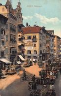 BOZEN ITALY-OBSTMARK-FRUIT MARKET-1910 TINTED PHOTO POSTCARD 51191 - Bolzano (Bozen)