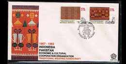 1983 - Indonesia FDC E148 - Art - Handicraft - Tradiotional Weaving [ZK024] - Indonesia