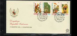 1984 - Indonesia FDC E159 - Art - And Culture [ZK037] - Indonesia