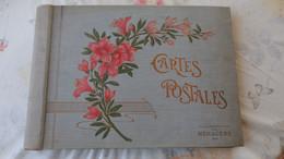 """Album """" Des Nouvelles Galeries A La Ménagère"""" Avec  60 Pages Pour 4 CPA ; Très Bon état; - Alben, Binder & Blätter"""