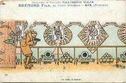 Themes Div-ref FF991-illustrateurs -illustrateur Guillaume -publicité Calisson D Aix -bremond Fils -jeu Cartes -monaco - - Guillaume