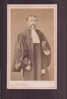 Photo CDV ( 10.5 X 6.5 Cm ) Avocat ( Photographe Collard Paris ) - Old (before 1900)
