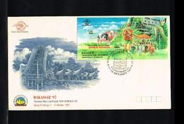 1997 - Indonesia FDC ZB 1805 (B141) - Exhibitions - Philatelic Exhibition - Makassar 97 [ZL042] - Indonesia