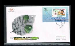 1999 - Indonesia FDC 10B/99 - Environment - Environmental Care (Ecophila) [ZM032] - Indonesia
