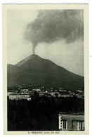 Ref 1454 - 5 X Early Postcards - Vesuvio Volcano Eruption & Observation Bldg - Napoli Campania Italy - Napoli (Napels)