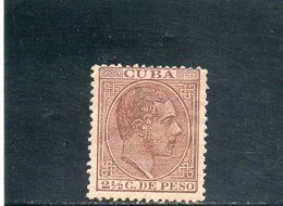 CUBA 1882-4 * AMINCI - Cuba (1874-1898)