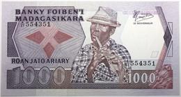 Madagascar - 1000 Francs - 1987 - PICK 68b - NEUF - Madagascar