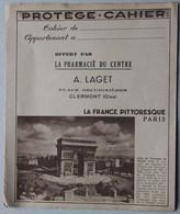 Protège-cahier, La France Pittoresque Paris, Pharmacie Laget à Clermont (Oise) - Book Covers