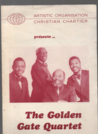 Programme GOLDEN GATE QUARTET SD (CAT 2272) - Programma's