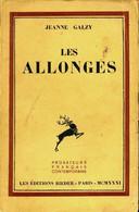 Les Allongés De Jeanne Galzy (1923) - Other